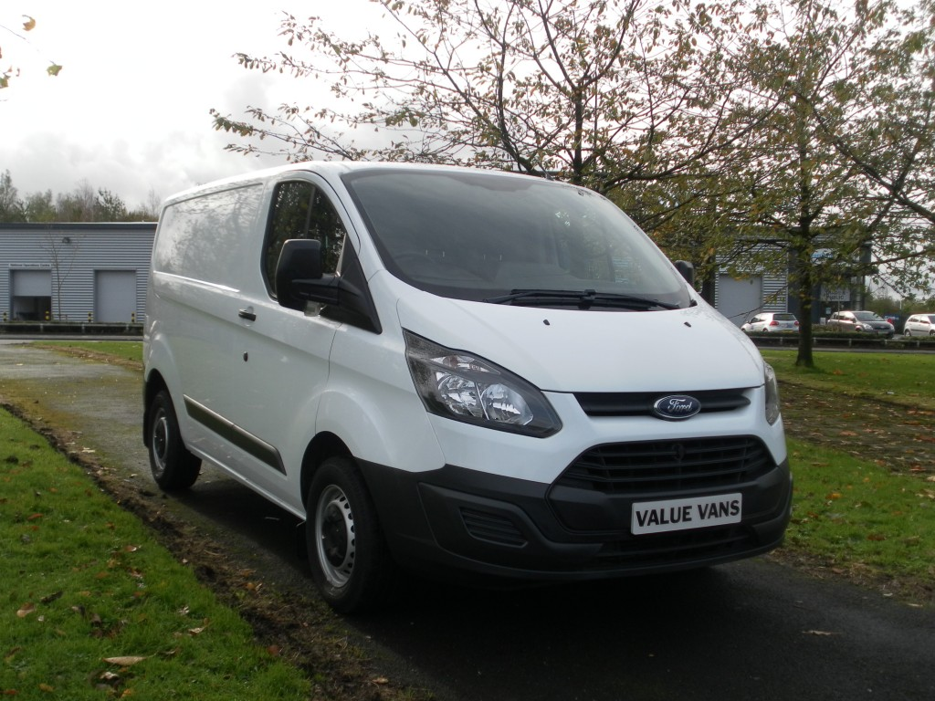 FORD TRANSIT CUSTOM L1 H1 290 ECO-TECH (74,000 MILES) (FSH)