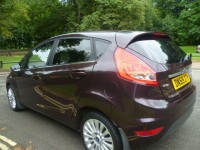 FORD FIESTA 1.6 TITANIUM TDCI 5DR Manual