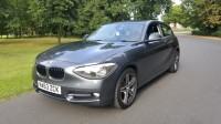 BMW 1 SERIES 2.0 116D SPORT 3DR Manual