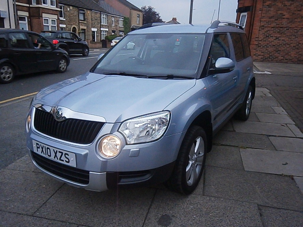 SKODA YETI 2.0 SE TDI CR 5DR Manual