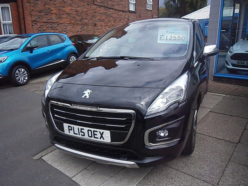 PEUGEOT 3008 1.2 PURETECH S/S ALLURE 5DR Manual