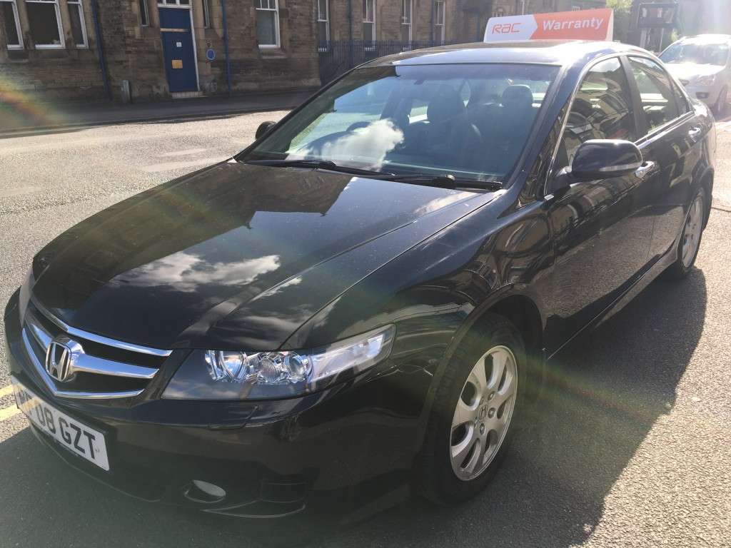 HONDA ACCORD 2.2 I-CTDI EXECUTIVE 4DR Manual