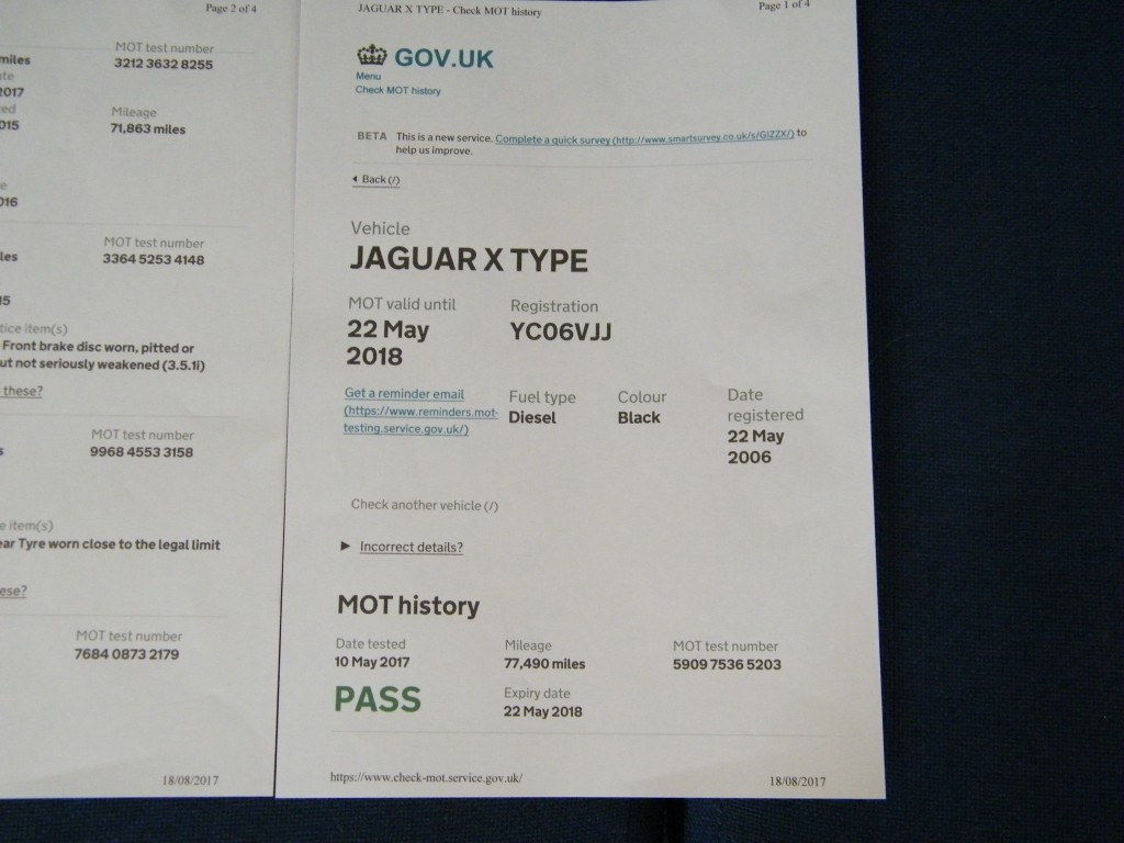 JAGUAR X-TYPE 2.0 SE 4DR