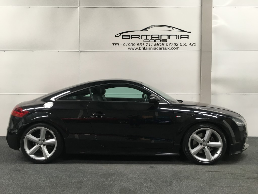 audi tt 1 8 tfsi s line 2dr for sale in sheffield. Black Bedroom Furniture Sets. Home Design Ideas