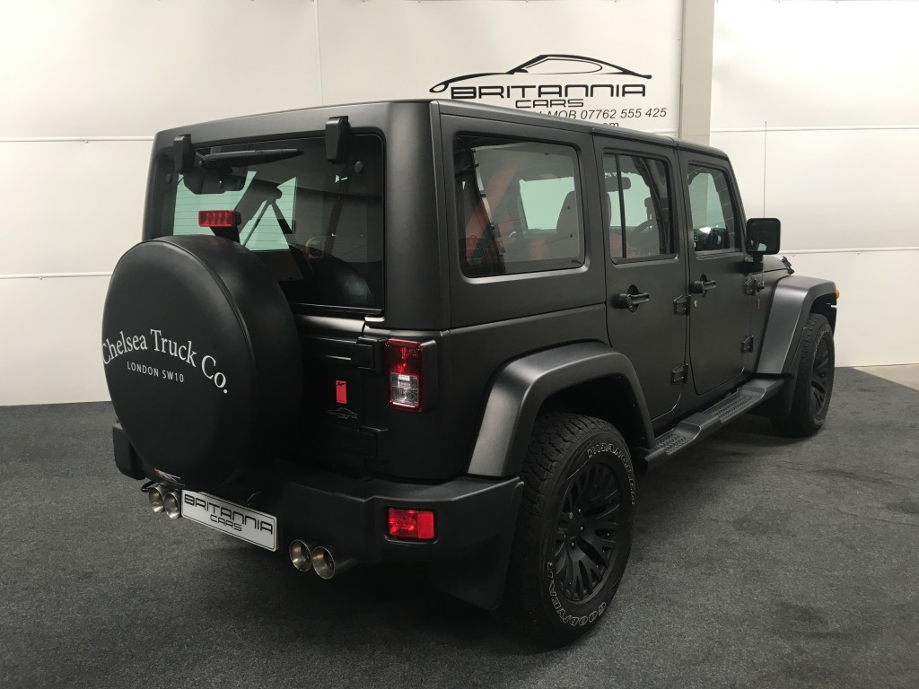 JEEP WRANGLER 2.8 SAHARA UNLIMITED CRD 4DR AUTOMATIC