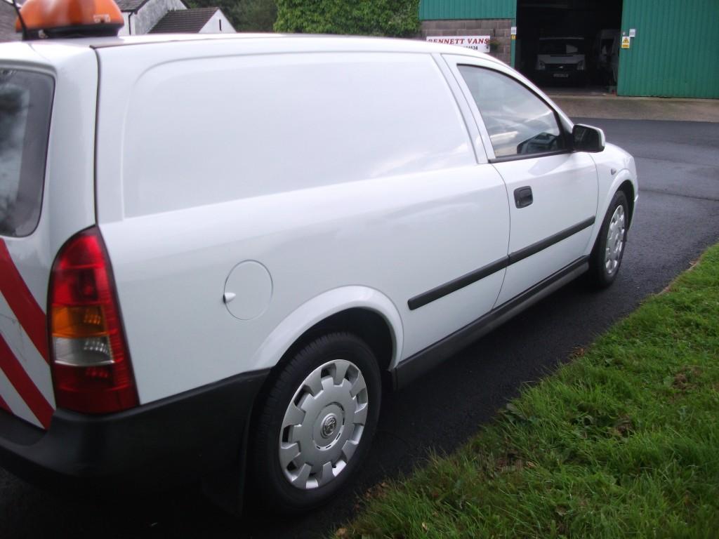 VAUXHALL ASTRA DIESEL CAR DERIVED VAN 1.7 CDTI ENVOY