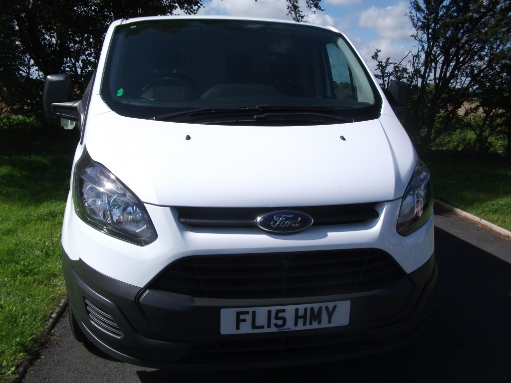 FORD TRANSIT CUSTOM 2.2 290 LR P/V Manual
