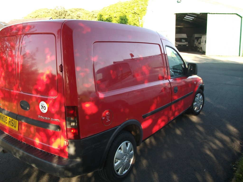 VAUXHALL COMBO DIESEL Car Derived Van 1.2 1700 CDTI Manual