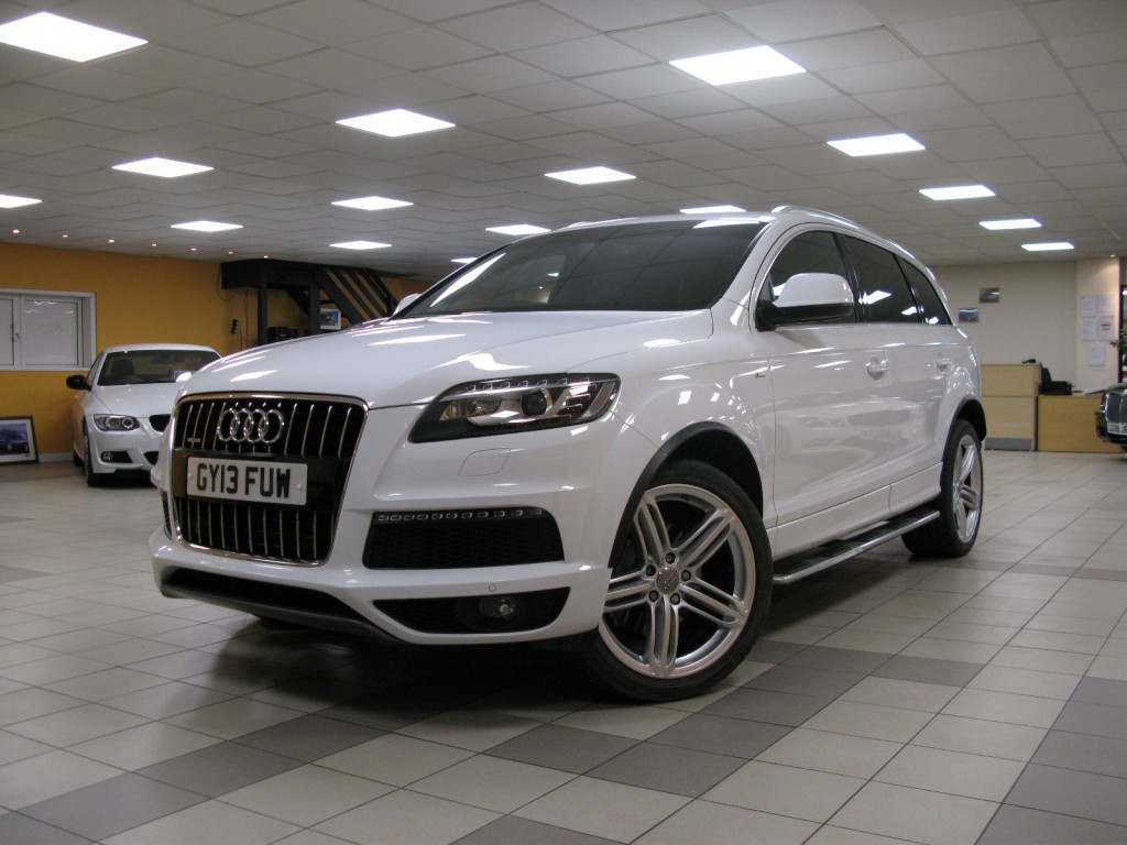 audi q7 3 0 tdi quattro s line plus 5dr automatic for sale in alfreton direct motors j28. Black Bedroom Furniture Sets. Home Design Ideas