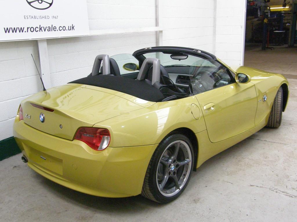 BMW Z SERIES 2.0 Z4 SPORT ROADSTER 2DR Manual