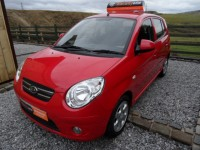 KIA PICANTO 1.1 RED ltd edition 2009 5 dr hatch fsh only 1 pre owner a/c alloys ipod usb aux low insurance-tax
