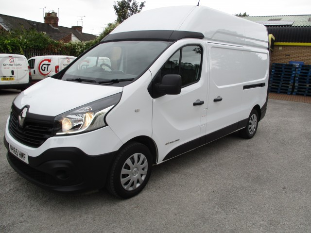 RENAULT TRAFIC 1.6 LH29 BUSINESS ENERGY DCI H/R P/V
