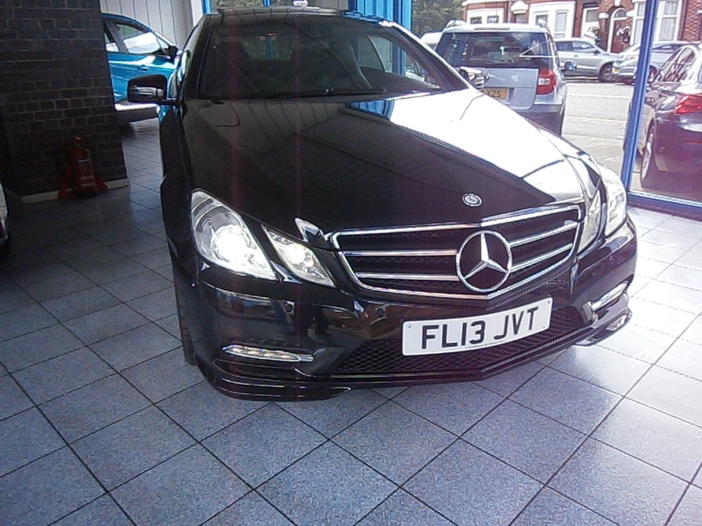 MERCEDES-BENZ E-CLASS 1.8 E200 CGI BLUEEFFICIENCY S/S SPORT 2DR AUTOMATIC