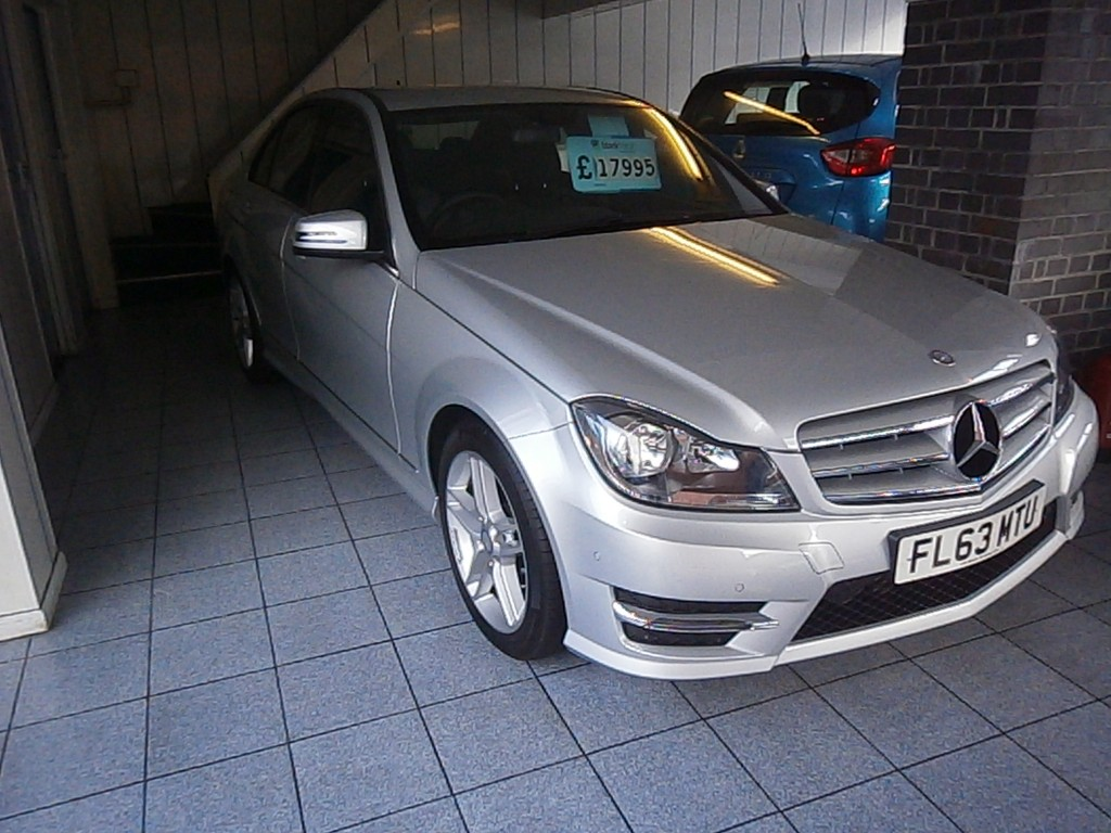 MERCEDES-BENZ C-CLASS 2.1 C220 CDI BLUEEFFICIENCY AMG SPORT 4DR AUTOMATIC