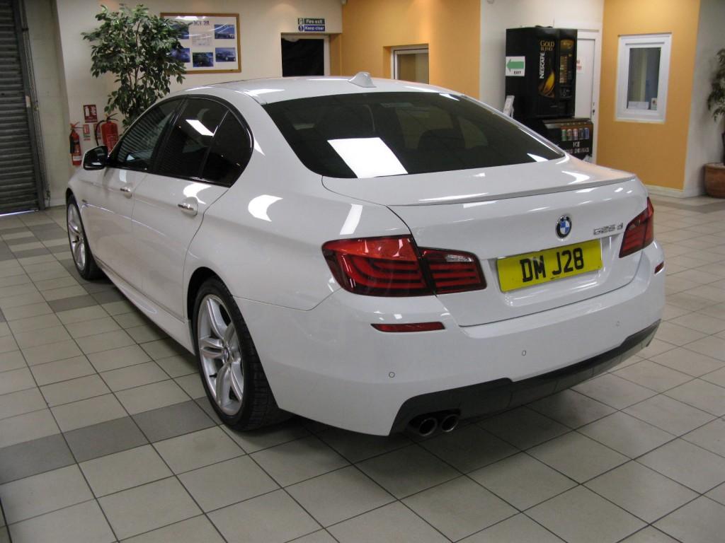 BMW 5 SERIES 3.0 525D M SPORT 4DR AUTOMATIC