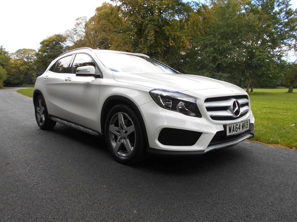 MERCEDES-BENZ GLA-CLASS 2.1 GLA220 CDI 4MATIC AMG LINE 5DR AUTOMATIC