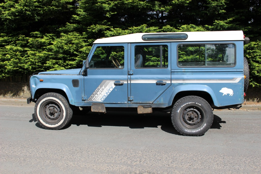 LAND ROVER 110 2.5 4CYL COUNTY SW DT