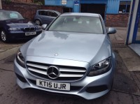 MERCEDES-BENZ C-CLASS 2.0 C200 SE EXECUTIVE 4DR AUTOMATIC