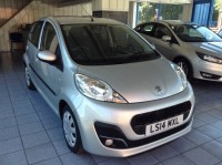 PEUGEOT 107 1.0 ACTIVE 5DR SEMI AUTOMATIC