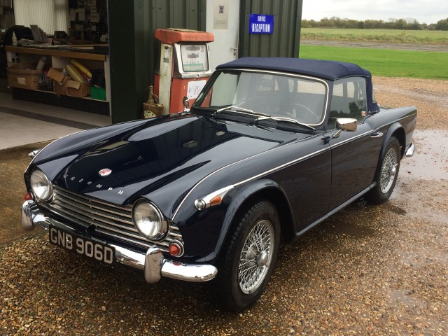 Triumph Tr4a 22 For Sale In Knutsford T R Bitz 2018