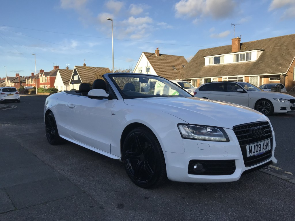 AUDI A5 2 0 TFSI S LINE 2DR For Sale in Blackpool - Karl