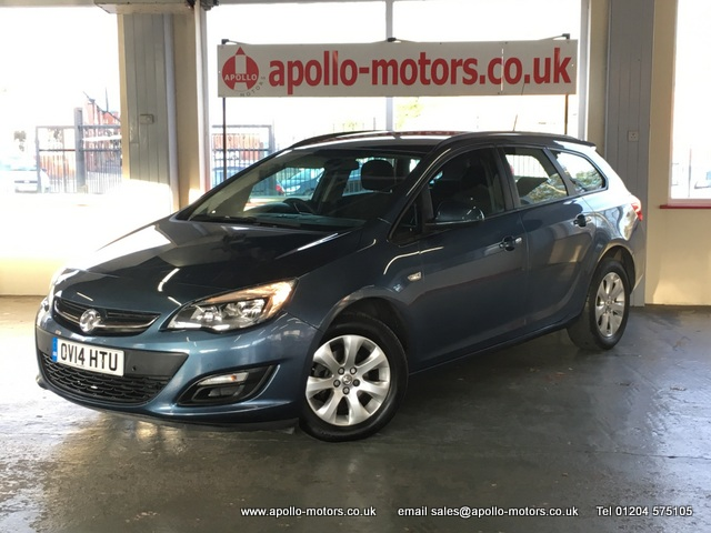 VAUXHALL ASTRA 1.6 DESIGN 5DR AUTOMATIC
