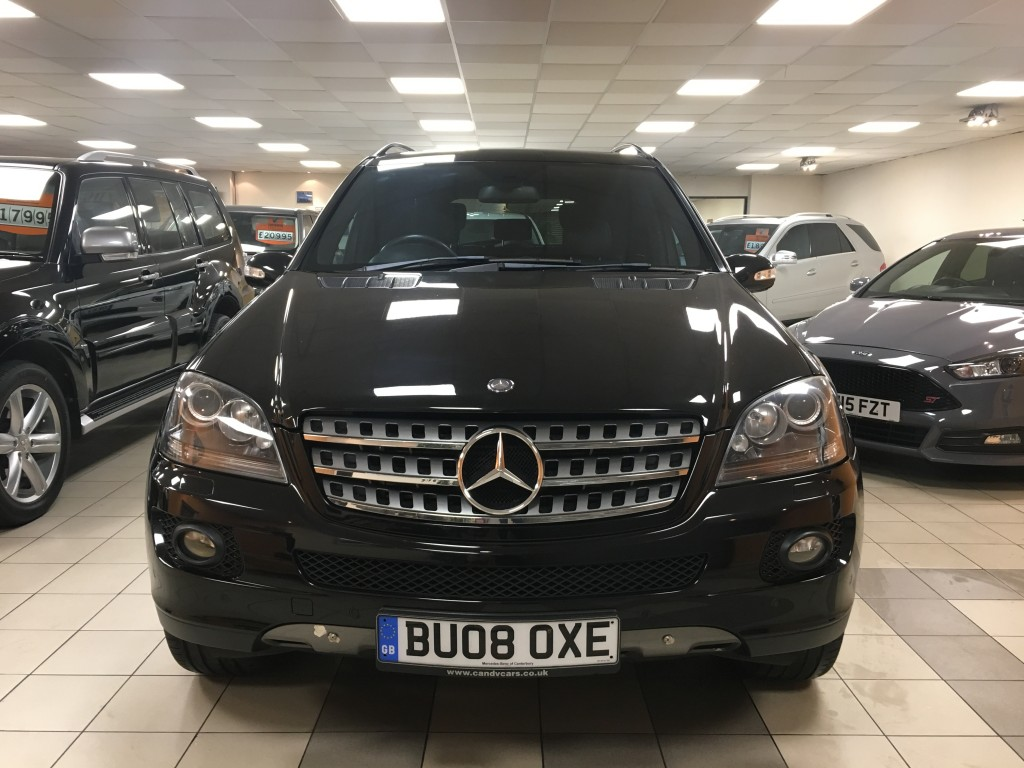 MERCEDES-BENZ M-CLASS 3.0 ML 320 CDI EDITION 10 5DR AUTOMATIC