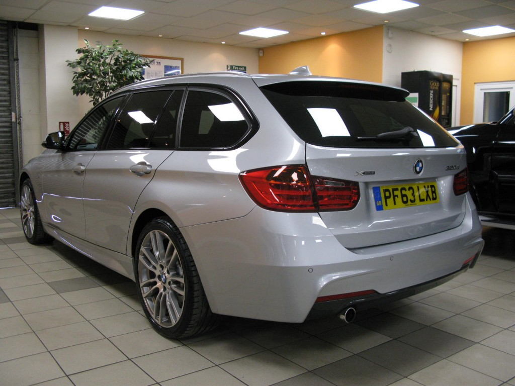 BMW 3 SERIES 2.0 320D XDRIVE M SPORT TOURING 5DR AUTOMATIC