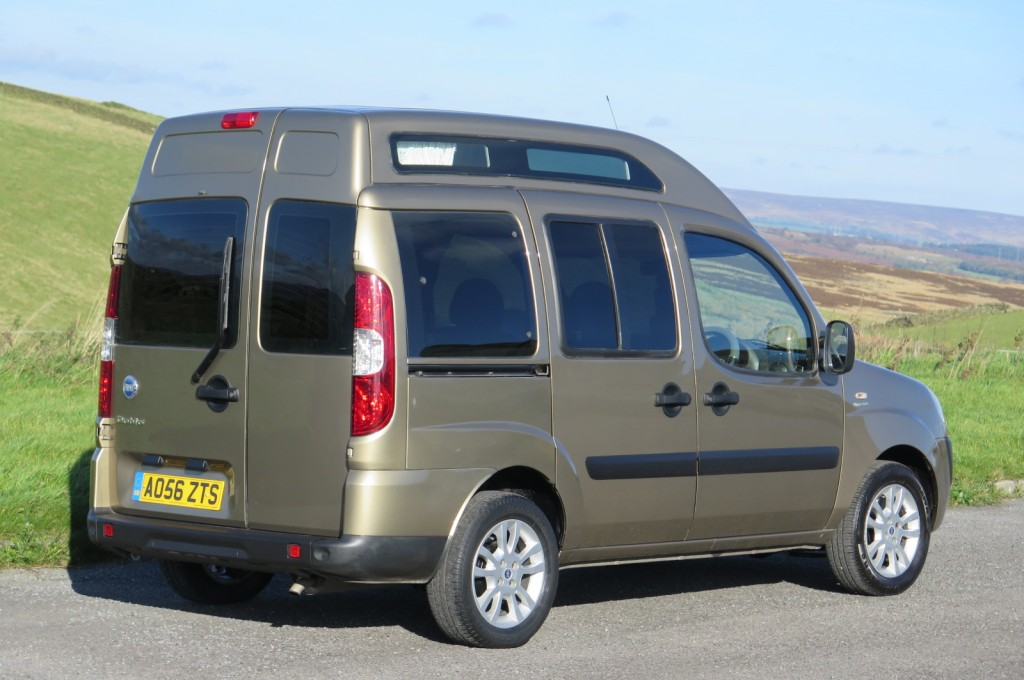 Fiat Compact Camper Doblo High Roof 1 4 Petrol For Sale In