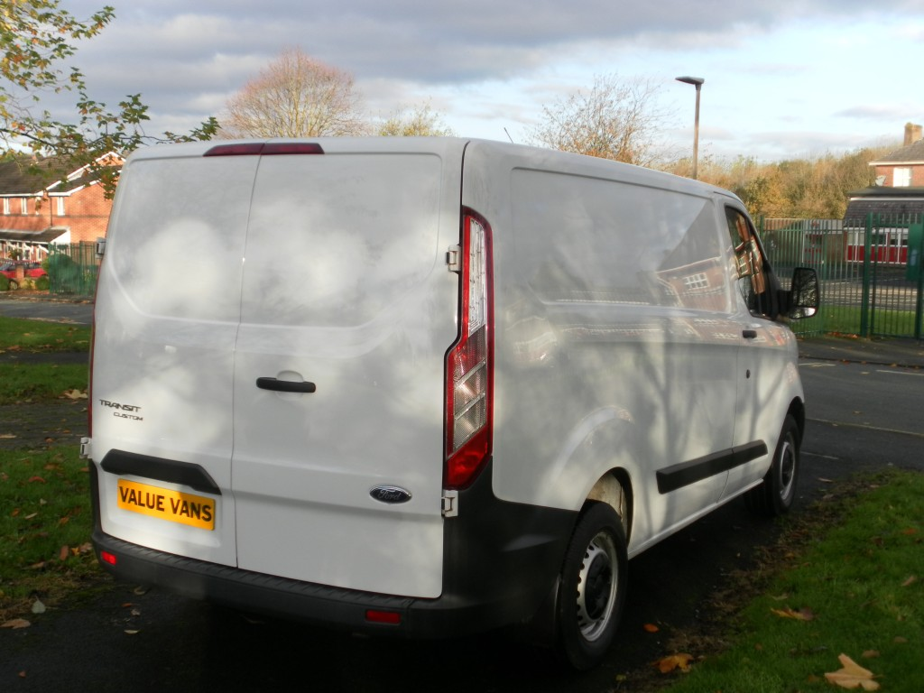 FORD TRANSIT CUSTOM 290 ECO-TECH (ONLY 62K MILES) (FSH)