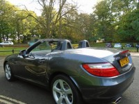 MERCEDES-BENZ SLK 2.1 SLK250 CDI BLUEEFFICIENCY 2DR AUTOMATIC