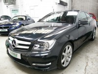 MERCEDES-BENZ C-CLASS 1.8 C180 BLUEEFFICIENCY AMG SPORT EDITION 125 2DR AUTOMATIC