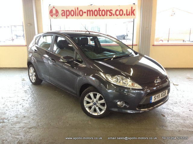 FORD FIESTA 1.4 ZETEC 16V 5DR AUTOMATIC