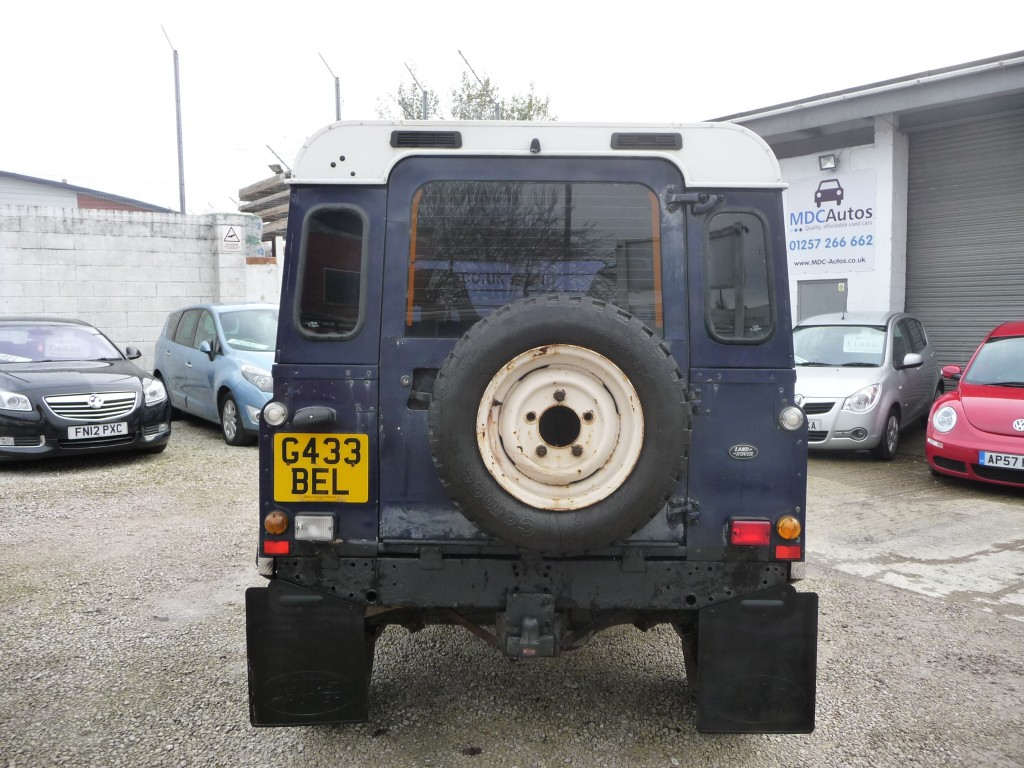 LAND ROVER 90 2.5 4CYL REG (Engine/Fuel Conversion) 3DR