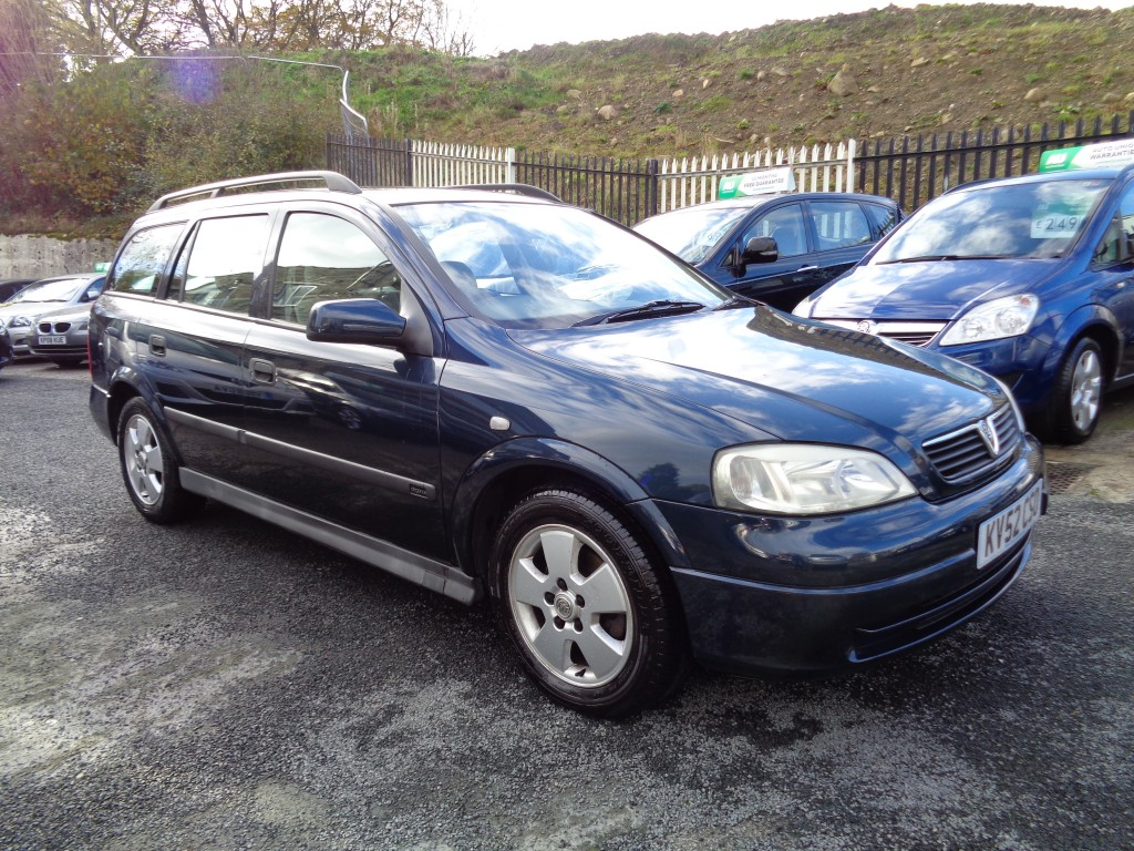 VAUXHALL ASTRA 1.8 ELEGANCE 16V 5DR AUTOMATIC