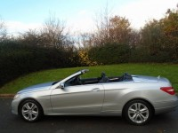MERCEDES-BENZ E-CLASS 2.1 E220 CDI BLUEEFFICIENCY SE 2DR AUTOMATIC