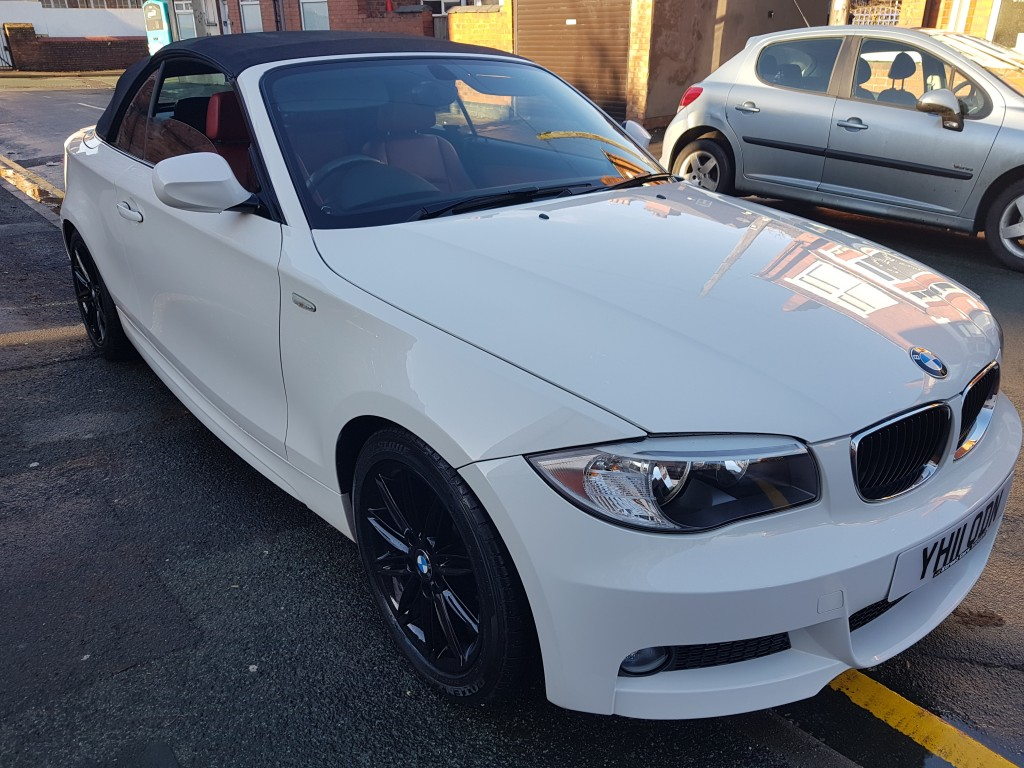 BMW 1 SERIES 2.0 123D M SPORT 2DR AUTOMATIC