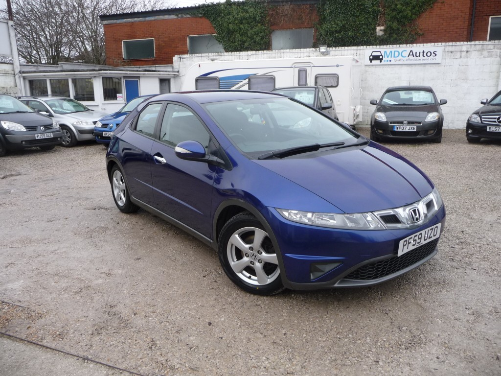 HONDA CIVIC 1.3 I-VTEC SE I-SHIFT 5DR SEMI AUTOMATIC
