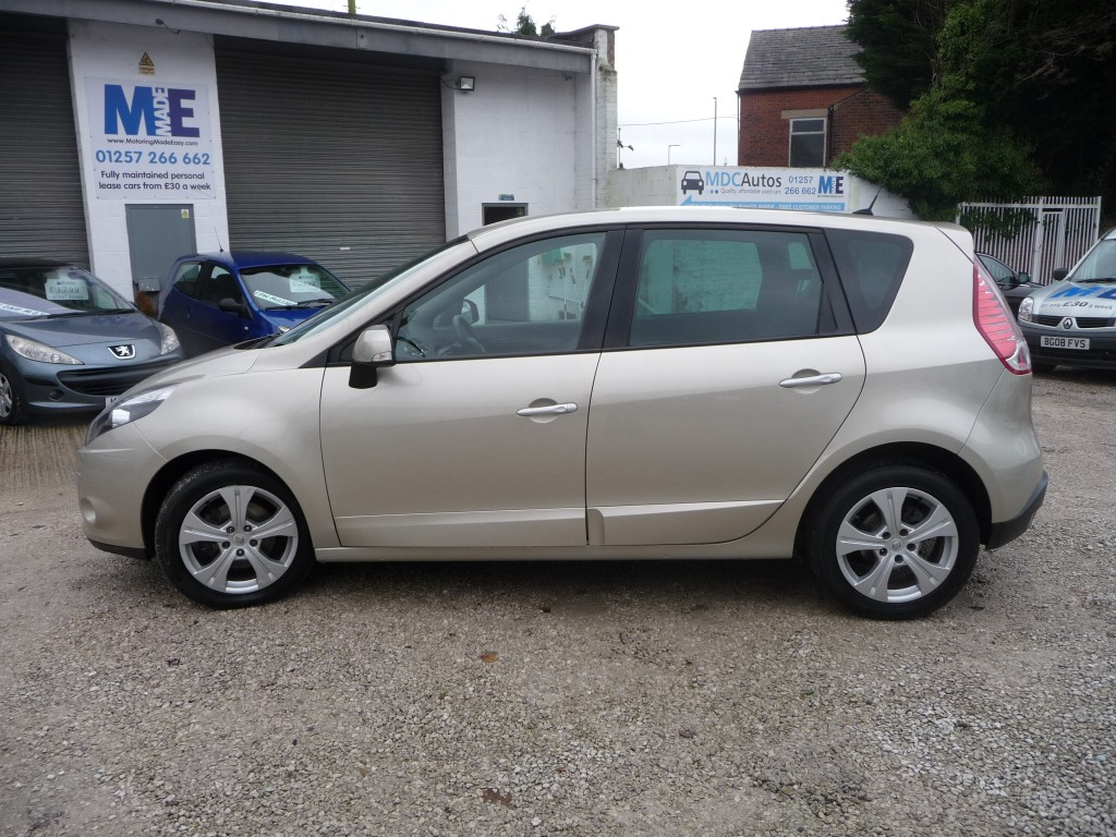 RENAULT SCENIC 1.5 DYNAMIQUE TOMTOM DCI EDC 5DR SEMI AUTOMATIC