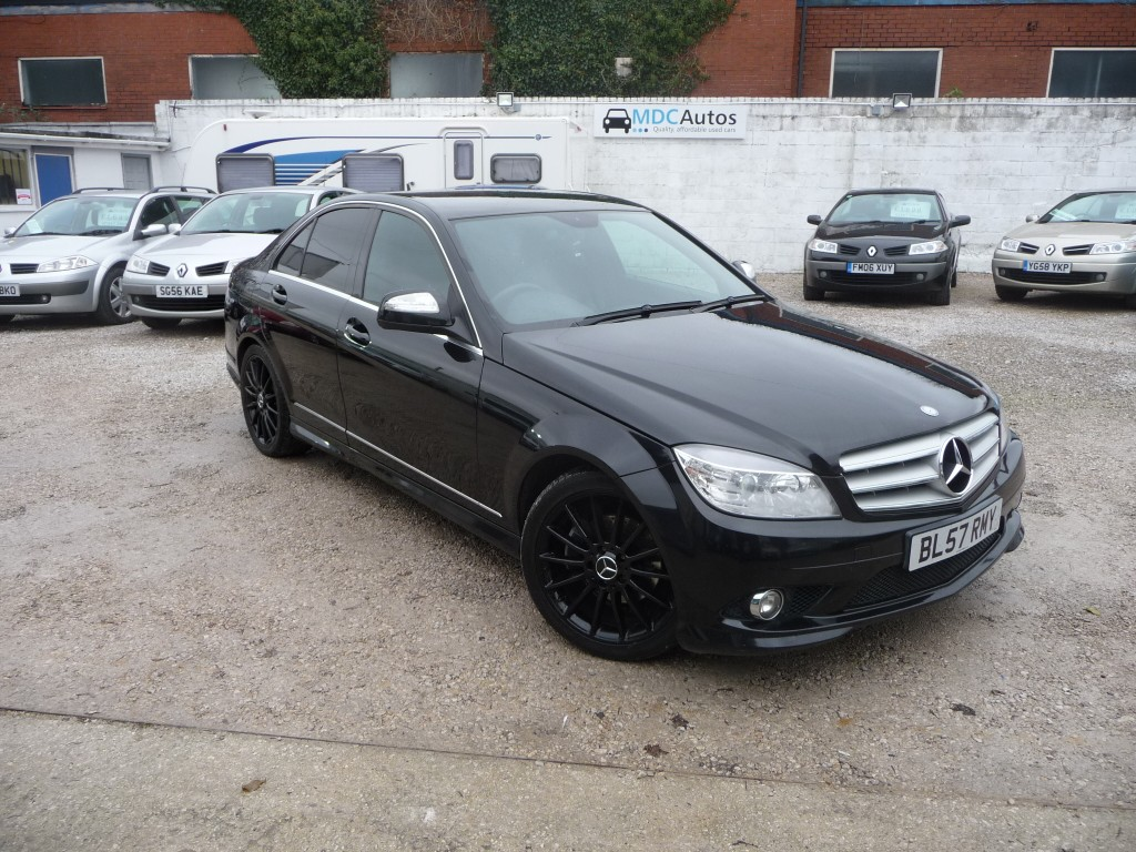 mercedes benz c class 2 1 c220 cdi sport 4dr for sale in chorley mdc autos. Black Bedroom Furniture Sets. Home Design Ideas