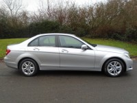 MERCEDES-BENZ C-CLASS 2.1 C200 CDI BLUEEFFICIENCY EXECUTIVE SE 4DR