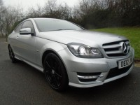 MERCEDES-BENZ C-CLASS 1.8 C180 BLUEEFFICIENCY AMG SPORT 2DR