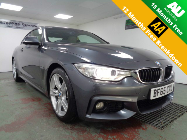 Used BMW 4 SERIES 2.0 420D M SPORT 2DR AUTOMATIC in West Yorkshire