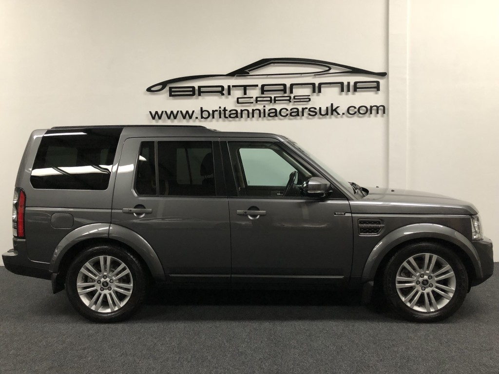 LAND ROVER DISCOVERY 3.0 SDV6 GRAPHITE 5DR AUTOMATIC