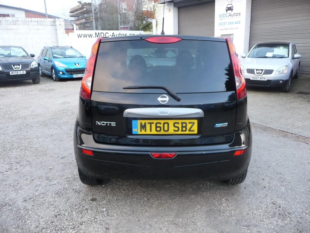NISSAN NOTE 1.5 N-TEC DCI 5DR
