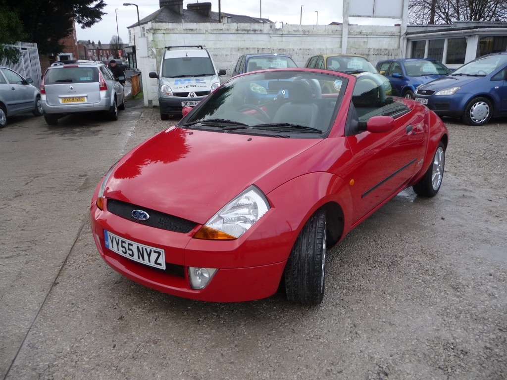FORD STREETKA 1.6 WINTER EDITION 2DR
