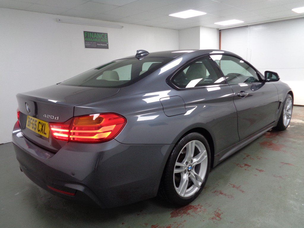 BMW 4 SERIES 2.0 420D M SPORT 2DR AUTOMATIC