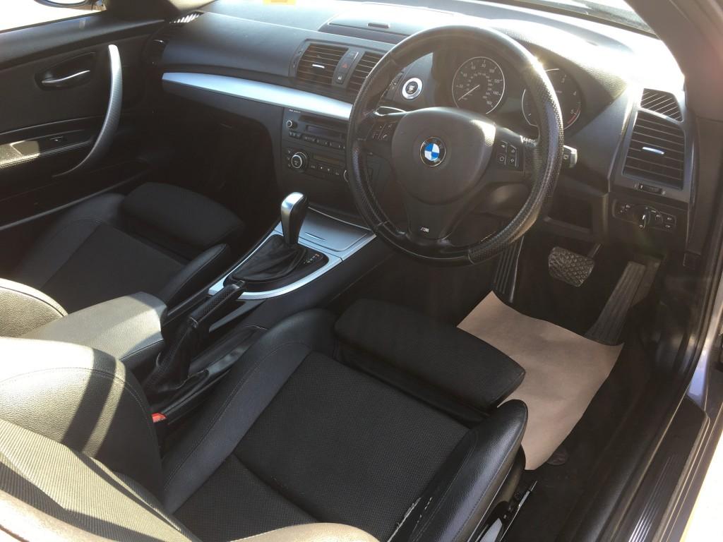 BMW 1 SERIES 2.0 120D M SPORT 2DR AUTOMATIC