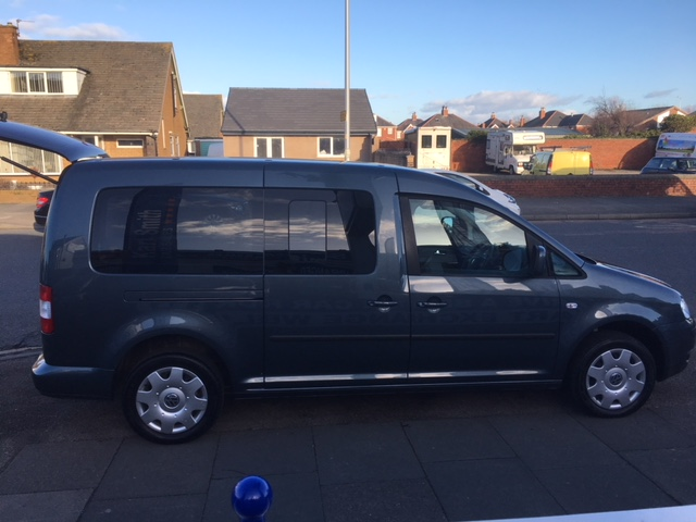 VOLKSWAGEN CADDY MAXI 1.9 LIFE TDI 5DR 7 seater