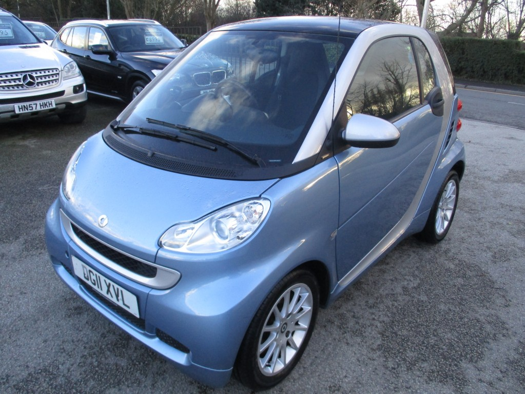 SMART FORTWO COUPE 1.0 PASSION MHD 2DR AUTOMATIC